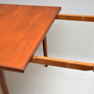 1960's Teak Vintage Dining Table by IB Kofod Larsen for G- Plan Danish Range