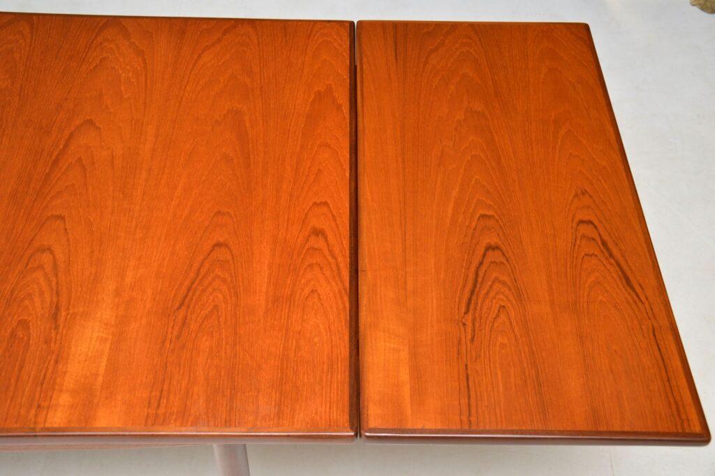 danish teak vintage retro dining table kofod larsen g plan