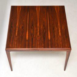 danish rosewood retro vintage coffee table johannes andersen