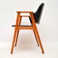1960's Pair of Danish Open Armchairs