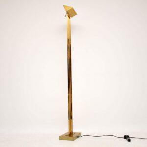 vintage retro italian brass lamp