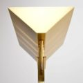 1970's Vintage Italian Brass Floor Lamp