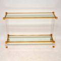 retro_vintage_french_glass_brass_perspex_console_table_1