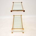 retro_vintage_french_glass_brass_perspex_console_table_3