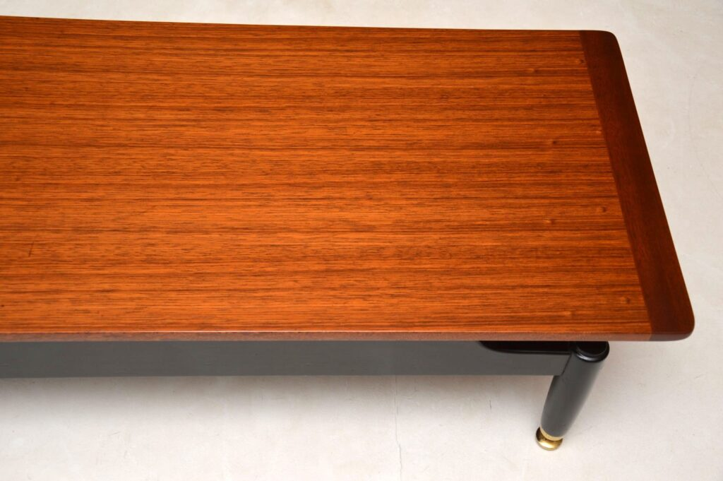 vintage retro coffee table bench by g- plan