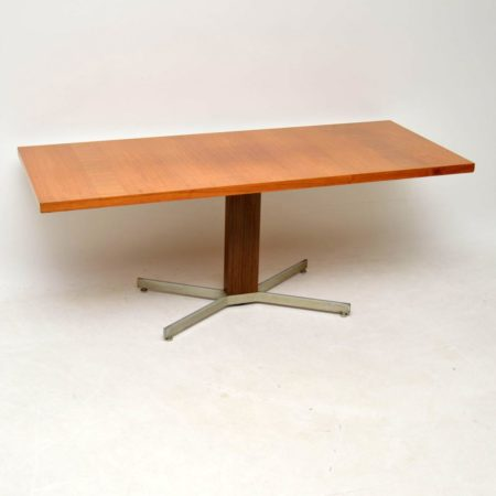 1970's Vintage Teak Rise & Fall Dining / Coffee Table by Ilse Mobel