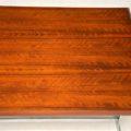 1970's Vintage Rosewood & Chrome Desk by Merrow Associates