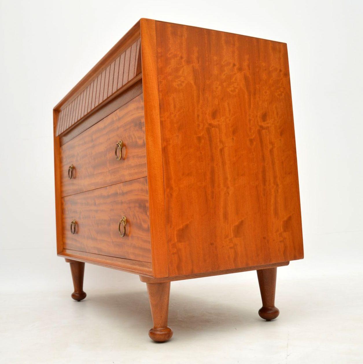 retro_vintage_satinwood_heals_chest_of_drawers_10