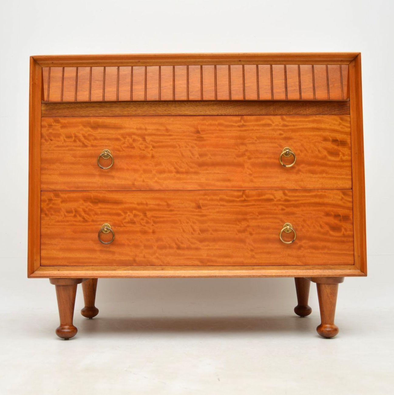 retro_vintage_satinwood_heals_chest_of_drawers_2
