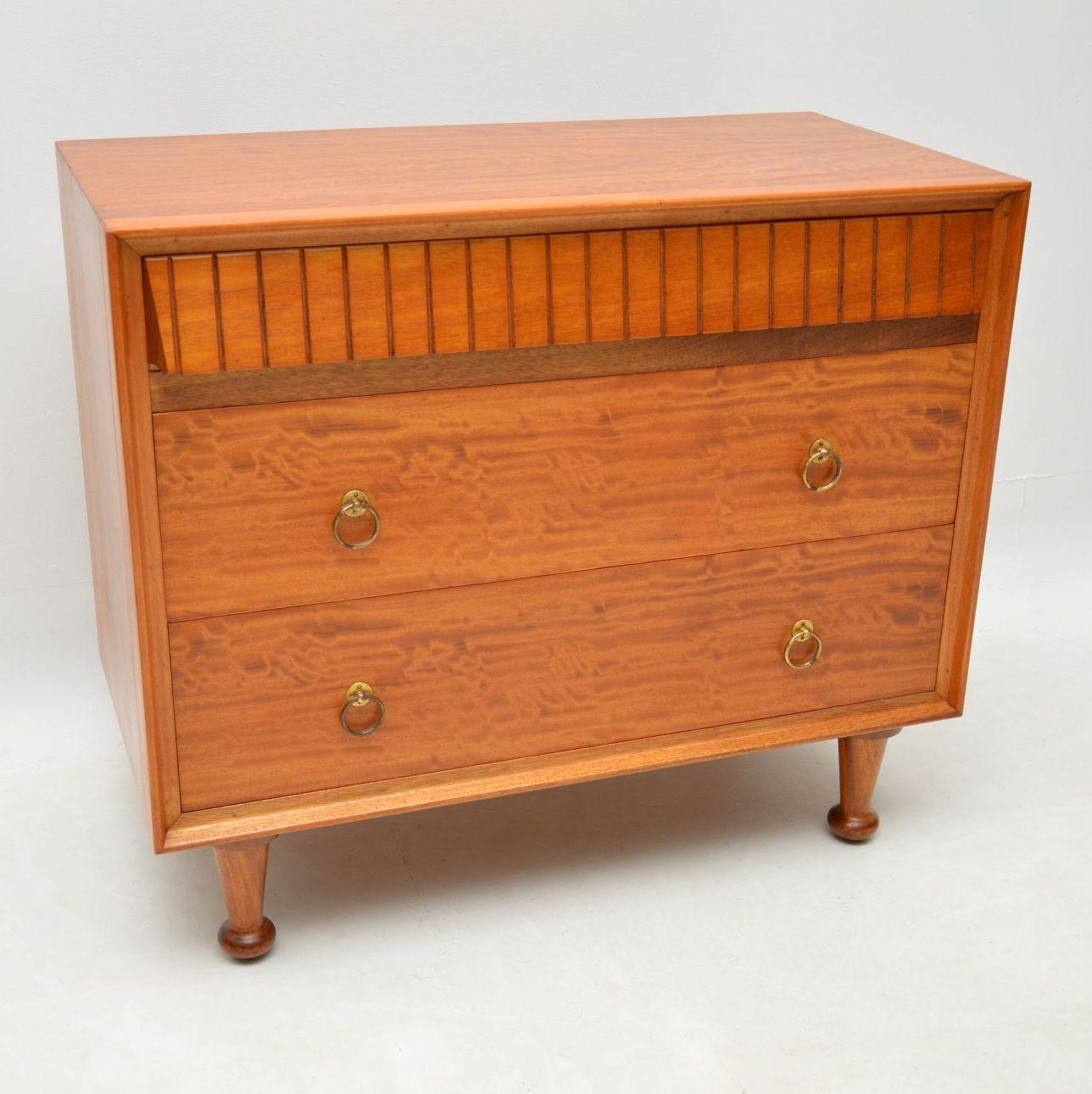 retro_vintage_satinwood_heals_chest_of_drawers_3