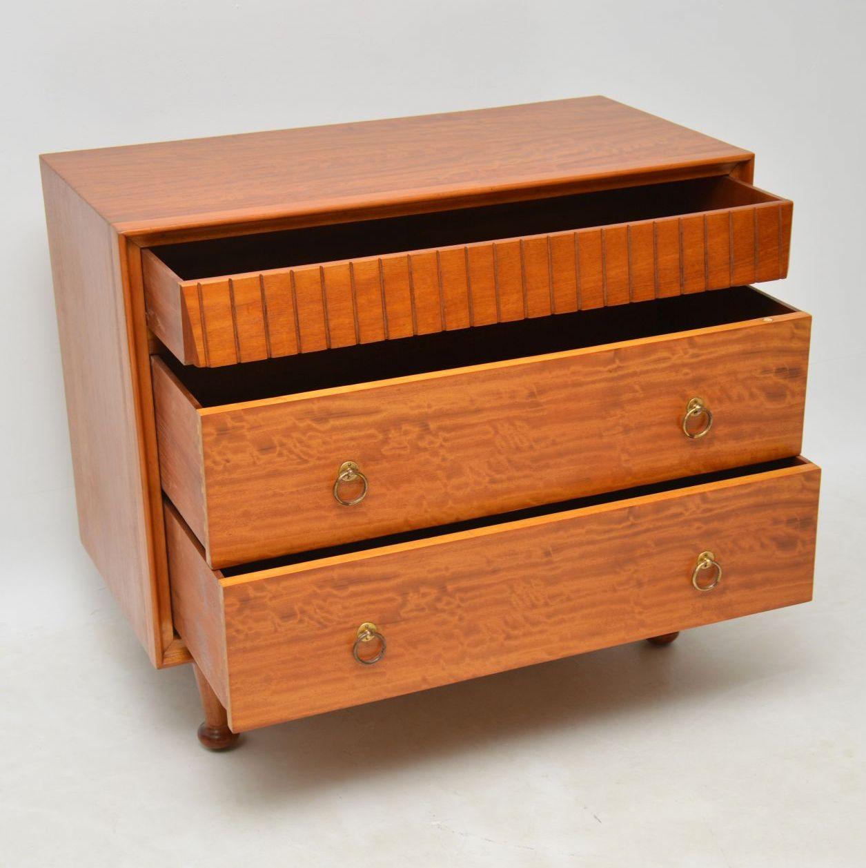 retro_vintage_satinwood_heals_chest_of_drawers_8