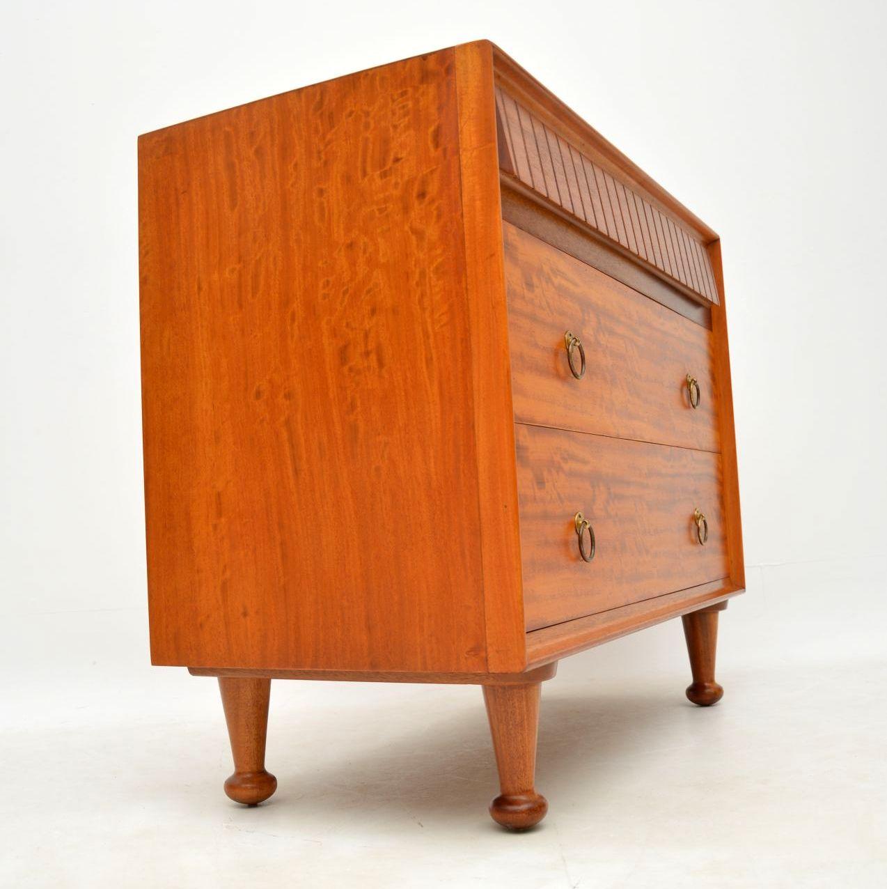 retro_vintage_satinwood_heals_chest_of_drawers_9