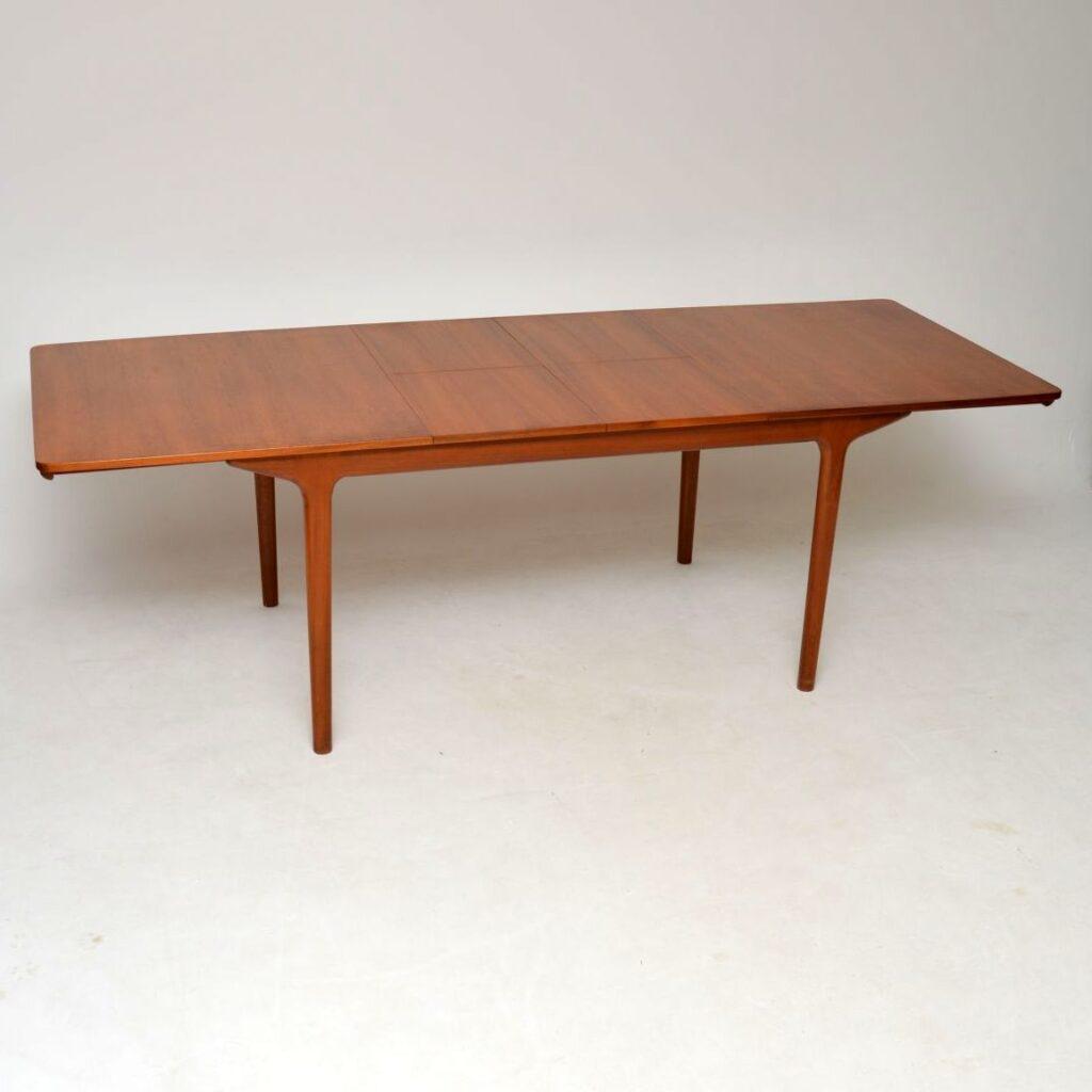 teak vintage retro dining table by mcintosh