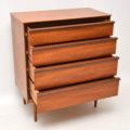 1960's Vintage Teak & Rosewood Chest of Drawers by Frank Guille