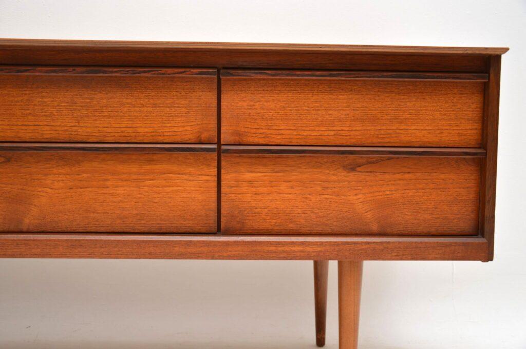 teak rosewood retro vintage sideboard austinsuite