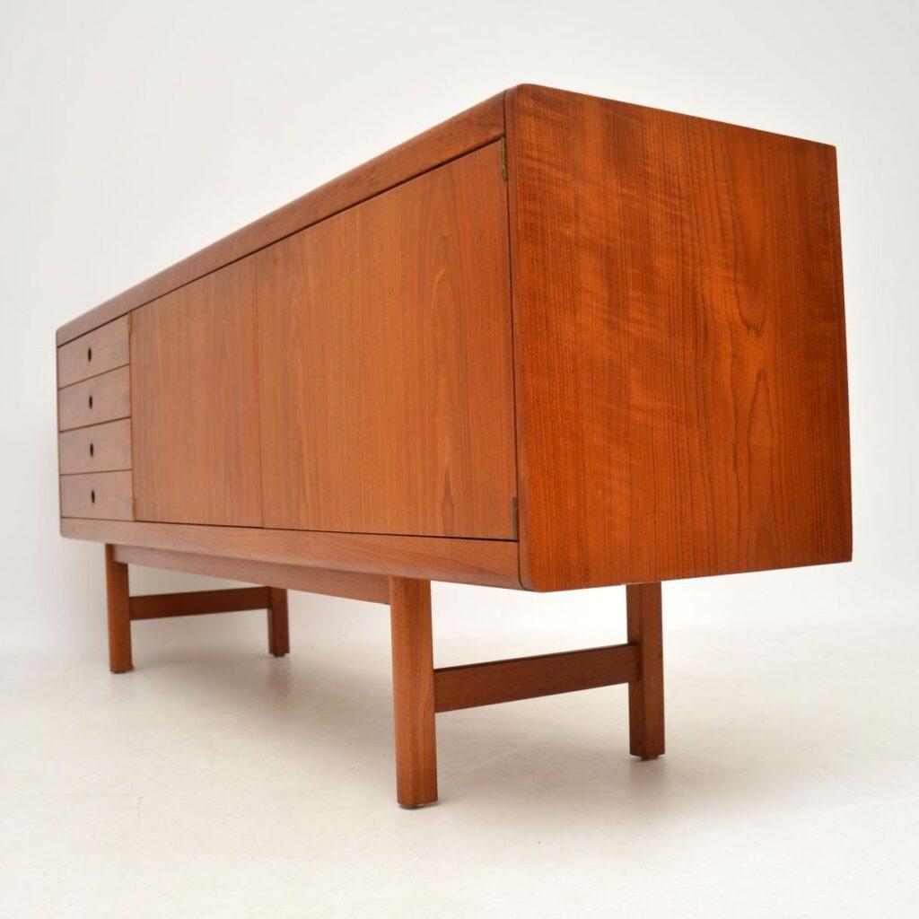teak retro vintage sideboard robert heritage archie shine