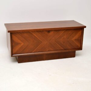 1970's vintage retro cedar trunk chest box by lane