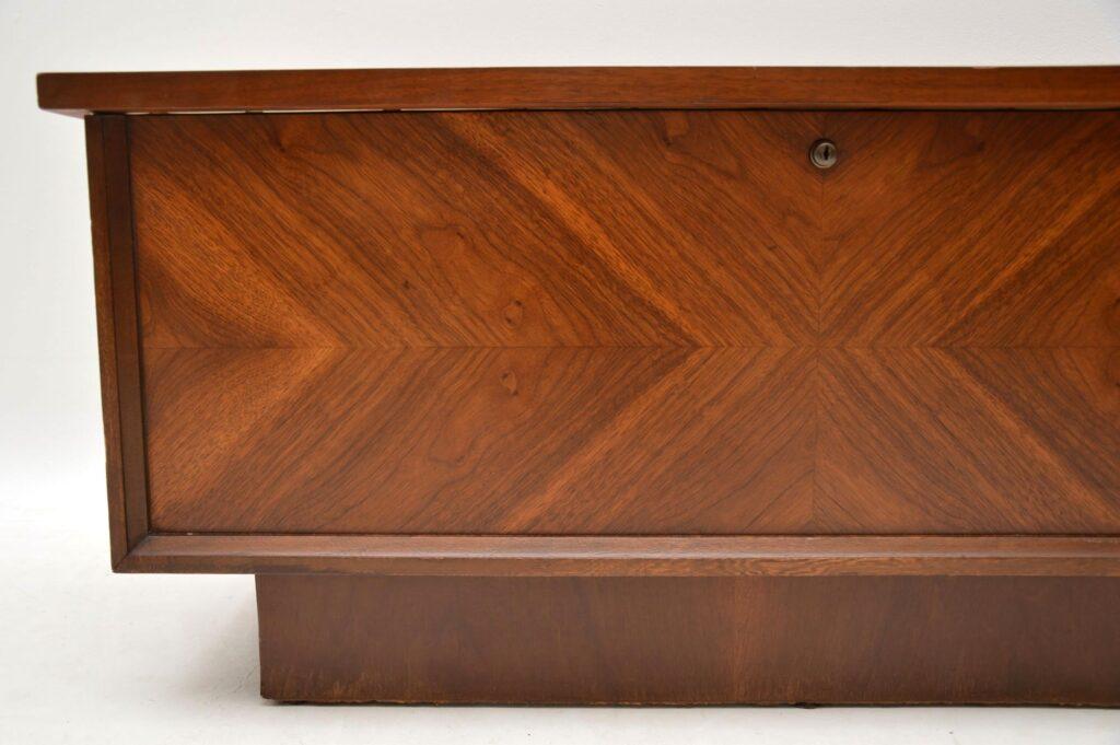 1970's vintage retro cedar trunk chest box by lane