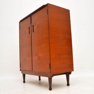 vintage retro teak cabinet meredew