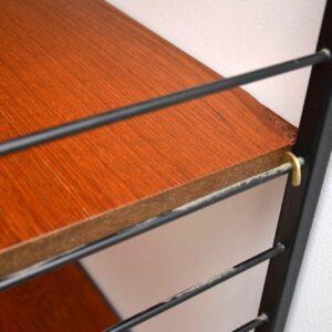 1960's Vintage Teak Ladderax Wall Unit / Wardrobe / Chest / Shelves