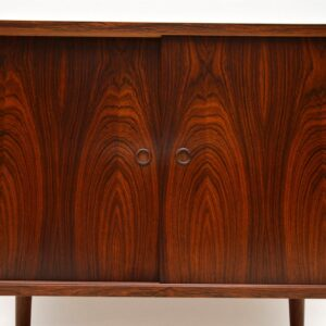danish rosewood retro vintage cabinet sideboard