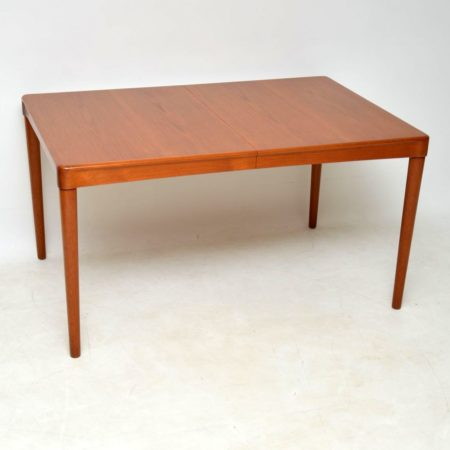 1960's Danish Teak Dining Table by H.W Klein for Bramin