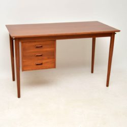 1960's Vintage Danish Teak Desk by Arne Vodder