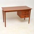 1960's Vintage Danish Teak Desk by Arne Vodder