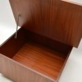 1960's Vintage Danish Rosewood Coffee Table / Storage Chest