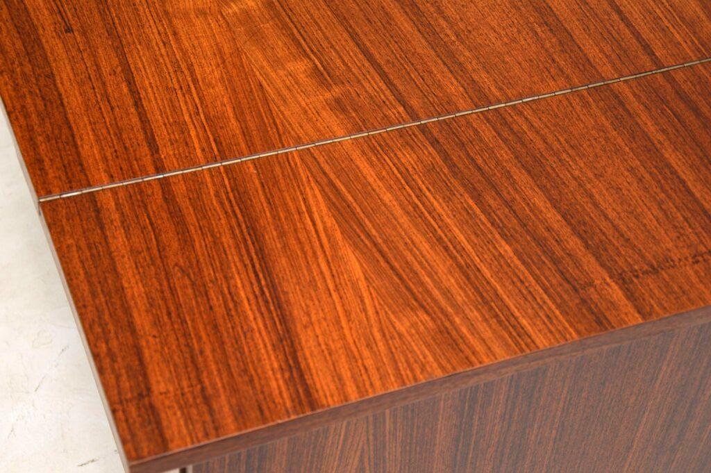 danish rosewood vintage retro coffee table