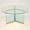 retro_vintage_glass_dining_table_leon_rosen_pace_furniture_2