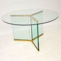 retro_vintage_glass_dining_table_leon_rosen_pace_furniture_8