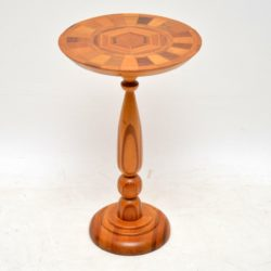 1960's Vintage Wine Table in Various Inlaid Woods