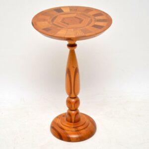 retro vintage side wine table