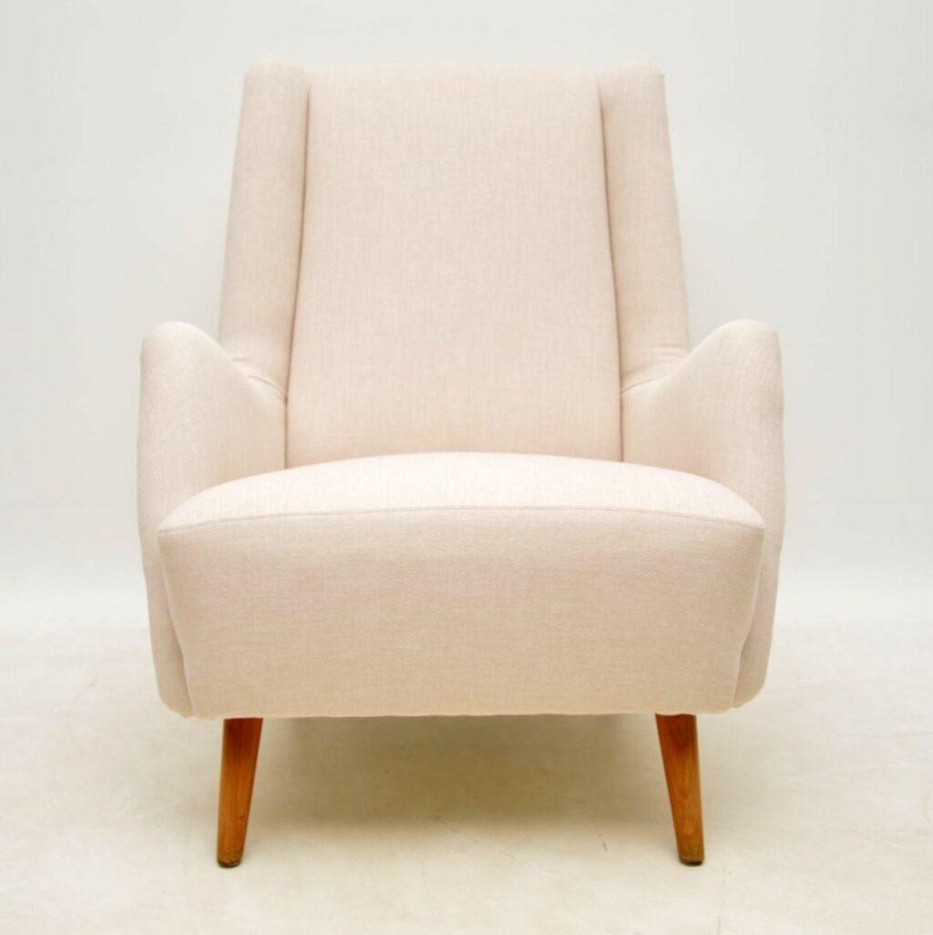 swedish retro vintage armchair by alf svensson