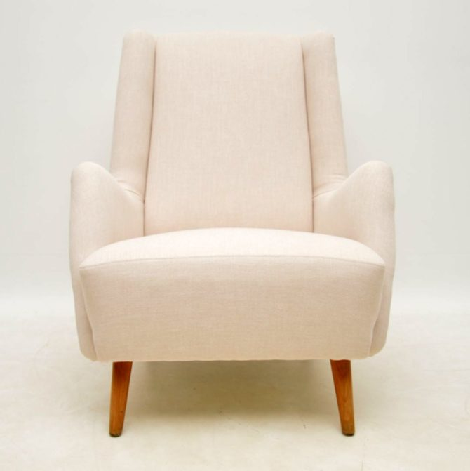 swedish retro vintage armchair by alf svensson