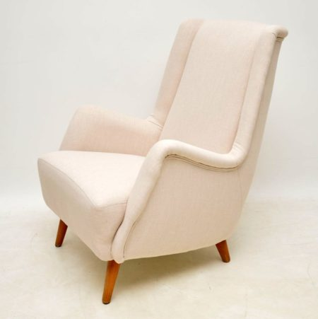 1960's Swedish Vintage Armchair by Alf Svensson