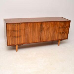 vintage retro walnut rosewood sideboard