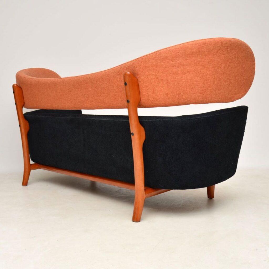 danish retro vintage finn juhl baker sofa