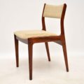 1960's Set of 6 Danish Rosewood Dining Chairs by Johannes Andersen