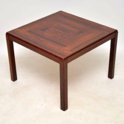 1960's Vintage Danish Rosewood Coffee / Side Table