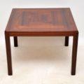 1960's Vintage Danish Rosewood Coffee / Side Table
