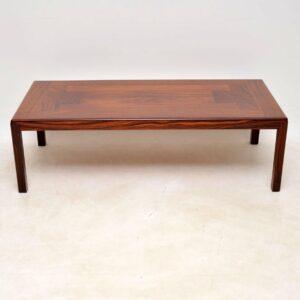 danish rosewood retro vintage coffee table