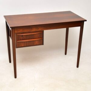 danish rosewood retro vintage desk