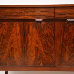 danish rosewood retro vintage sideboard