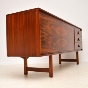danish rosewood retro vintage sideboard robert heritage archie shine