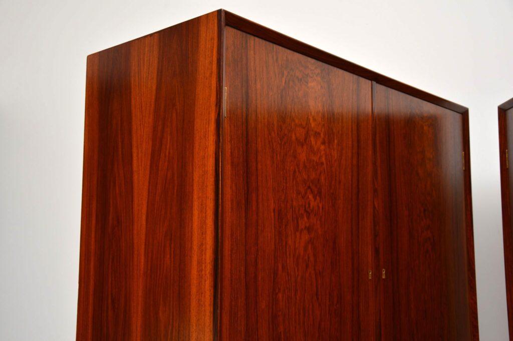 pair of danish retro rosewood vintage cabinets cabinet borge mogensen brouer