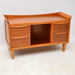 1950's Vintage Walnut Sideboard / Drinks Cabinet