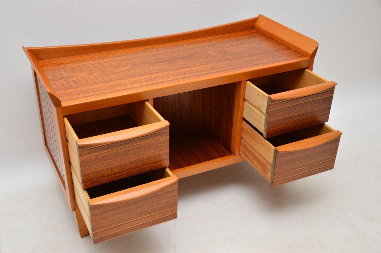 retro vintage walnut sideboard drinks cabinet