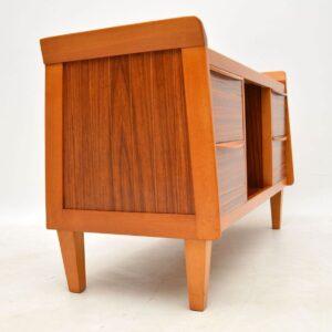 1950's Vintage Walnut Sideboard / Drinks Cabinet